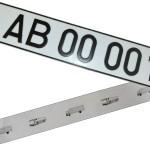 Новая модель номеров для автомобилей одобрена в Тирасполе
