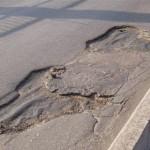 Проблемы с ремонтом дорог в Приднестровье