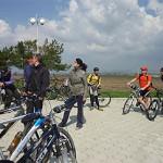 Велопробег в Приднестровье, посвященный 69-й годовщине освобождения Тирасполя