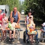 Летний отдых для детей-инвалидов в Дубоссарах