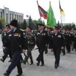 Дубоссарские казаки готовятся к параду