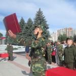 В военном институте Приднестровья торжественно прошла присяга