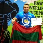 Приднестровский тяжелоатлет стал чемпионом мира