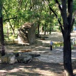 Парк имени Д. К. Родина в селе Чобурчиу (Чобручи)