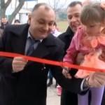 Новый детский садик открылся в селе Ново-Комиссаровка Дубоссарского района