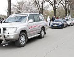 Автопробег приуроченный ко Дню победы проходит в ПМР