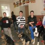 В Дубоссарах прошел открытый чемпионат по хендлингу