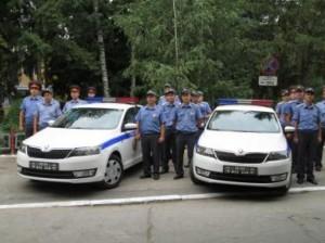 Новые автомобили получила милиция из Рыбницы