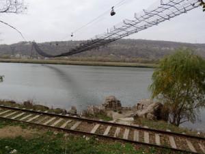 В Рыбнице приступили к демонтажу канатной дороги