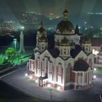 В Рыбнице установили подсветку на Михайло-Архангельском соборе
