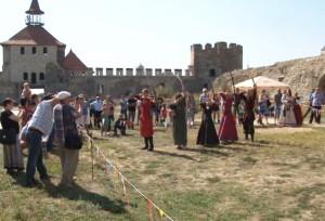 Арбалетный тир открылся в Бендерской крепости