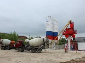 В Приднестровье заработал новый бетонный завод