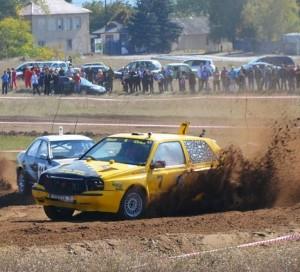 В Дубоссарах прошел чемпионат по автокроссу