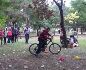 Чемпионат по велофигурному вождению прошел в Бендерах