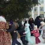 Новогодняя елка открылась в Каменке