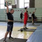 Первое место чемпионата по гиревому спорту взяла команда ОбрОН