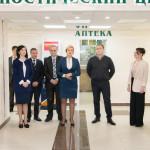 Социальная аптека открылась в диагностическом центре Рыбницы