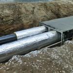 В Дубоссарах проводятся работы по замене теплоизоляции сетей