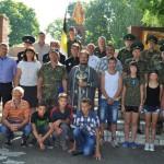 Эстафета казачьей памяти проходит в Каменке