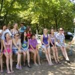 Летний сезон открылся в детском лагере «Юность»