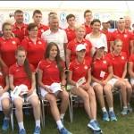Участие приднестровских спортсменов в Европейском олимпийском фестивале