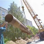 В Бендерах меняют трубопроводы в жилых домах