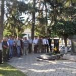 В Григориополе почтили память павших 1992 года