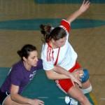 Очередная победа женской команды «ПГУ-СДЮШОР» по гандболу
