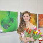 В Рыбнице проходит выставка «Силуэт цвета»