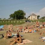 В Дубоссарах проверяю состояние городского пляжа