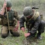 В вооруженных силах прошли учения саперов